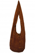 THAI HIPPIE BAG - ELEPHANT - 100% COTTON BOHO GYPSY SLING PURSE - BEACH TRAVEL SHOULDER BAG