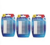 Denti-Brush Interdental Brushes Wire-Free 30-PACK OF 3