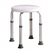 Z-Tec Height Adjustable Round Shower Stool