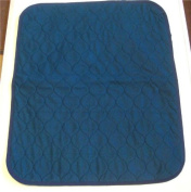 1 of Large (60cm x 50cm) Blue Washable Wheelchair Seat Armchair Incontinence pad Sheet
