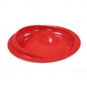 Red Scoop Plate for Alzheimer's & Dementia