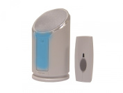 Byron Extra Loud Doorbell with Flashing Strobe Light