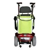 HIGH VISIBILITY MOBILITY SCOOTER BAG- WHEELCHAIR BAG - WALKING STICK CARRIER