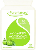 90 Garcinia Cambogia Original Triple Strength Fat Blocker Diet & Slimming Pills with Essential Potassium & Calcium for Rapid Absorption No Fillers & Suitable for Vegetarians - One Month Supply - FREE Dietary Support. in the UK