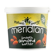 Meridian 1Kg Natural Almond Butter Smoothies