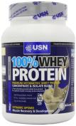 USN Whey Protein Premium Muscle Development and Recovery Shake Powder, Vanilla - 908 g
