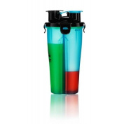 Hydra Cup 2 x 350ml Teal Neon Dual Shaker
