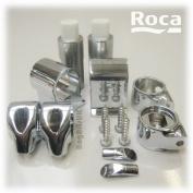 Roca Dama Senso & Giralda Soft Close Toilet Seat Hinge Set With Fixings & Dampers