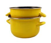 Baumalu 312869 Mussel Pan 24 cm Yellow
