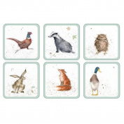 Pimpernel Wrendale Coasters - Set of 6