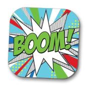 Hot Off The Press Coaster - Pop Art 'BOOM'