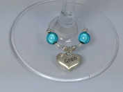 Individual ' Gran ' Wine Glass Charm by Libby's Market Place