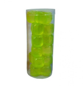 High Quality Green 18 x Reusable Ice Cubes Party Picnic BBQ