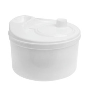 WHITE COLOUR SPIN & CLEAN SALAD SPINNER 4.5 litre