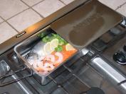 Cameron Gourmet Mini indoor or outdoor Food and Fish Smoker