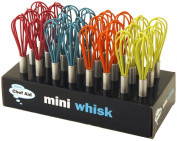 Cute Retro colourful mini whisk - assorted colours - kitchen gadget aid
