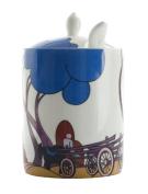 Modern Jam Pot and Spoon - Hay Cart