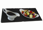 Large Natural Slate Rectangle Runner Kitchen Table Dining Food Placemat Serving