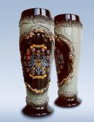 German Beer Stein black Deutschland pewter eagle wheat beer cup 0.5 litre tankard, beer mug ZO 1543S600
