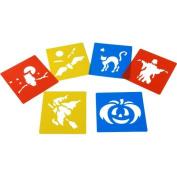Halloween Stencils (Set of 6)