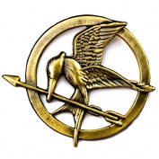 The Hunger Games Mockingjay Pin Badge Brooch - Catching Fire
