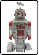 Retro Tin Toy Robot - Collectible Wind up tin Toy