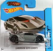 Hot Wheels 2014 HW City NEED FOR SPEED LAMBORGHINI SESTO ELEMENTO (GREY) 39/250