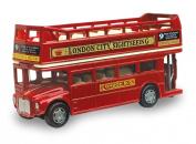 British Street Scenes 12cm Richmond Toys London Open Top Bus Die-Cast Model