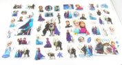 OVER 50 Padded FROZEN Stickers Ana Elsa Sven Olaf - Great for Party Bags - 5 Sheets!