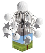 GOLF PARTY DECORATIONS Cascade Golf Ball party table centrepiece decorations