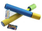 Set Of 2 Foam Water Pistol Blaster Pump - POOL TOY