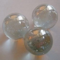 100g Glass Marbles Sample Clear 16mm