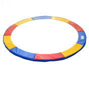 Homcom 4m Trampoline Pads Safety Enclosure Pad Pads Pading - Multi-Coloured