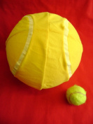 Giant Inflatable Mega Tennis Ball. FUN Toy!!! 25cms / 9.8inches.