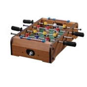 NEW TABLETOP FOOTBALL FOOSBALL TABLE WOODEN SOCCER BOYS GAME PLAY ARCADE STYLE