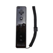 New Wii Remote Controller in White with Built-in MotionPlus Sensor for Nintendo Wii Game