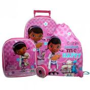 Doc McStuffins Luggage Set