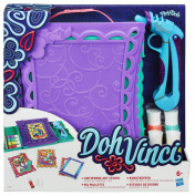 Play-Doh DohVinci Anywhere Art Studio Easel and Storage Case Set