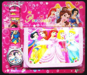Princess Children's Watch Wallet Set For Kids Children Boys Girls Great Christmas Gift Gifts Present - Sold by Happy Bargains Ltd