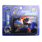 Transformers Children's Watch Wallet Set For Kids Children Boys Girls Great Christmas Gift Gifts Present - Sold by Happy Bargains Ltd