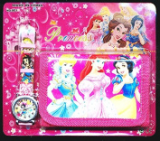 Princess Princesses Children's Watch Wallet Set For Kids Children Boys Girls Great Christmas Gift Gifts Present - Sold by Happy Bargains Ltd