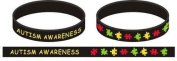 Black Autism Awareness Wristband