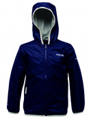 Regatta Kids Boys Lever Waterproof and Breathable Hooded Jacket