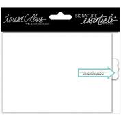 Signature Essentials Flip Book 10cm x 14cm -White