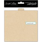 Signature Essentials Flip Book 15cm x 14cm -Kraft