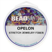 Opelon Stretch Bead Cord, 0.7mm 5 Metres, 1 Spool, Clear