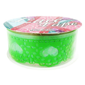 Arts and Crafts Scapbooking Lace Tape - Green Heart