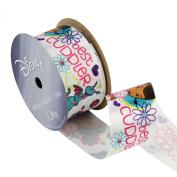 Offray Doc McStuffins Craft Ribbon, 1-/5.1cm by 2.7m, Best Cuddles