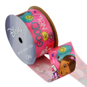 Offray Doc McStuffins Craft Ribbon, 1-/5.1cm by 2.7m, Good as New