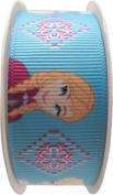 Simplicity 226910001 Disney Frozen Elsa and Anna 2.5cm Grosgrain Ribbon, 3-Yard